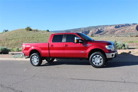 2009 ford f150 ecoboost new 2014 f150 ecoboost with 2 5 quot autospring leveling kit