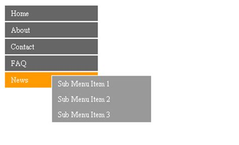 pure layout side menu 31 css navigation and menu tutorials you should practice