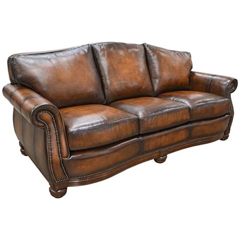 Omnia Leather Sofa by Covington Sofa By Omnia Leather Usa Made Free Shipping