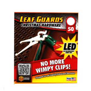 christmas light accessories leaf guard light clips