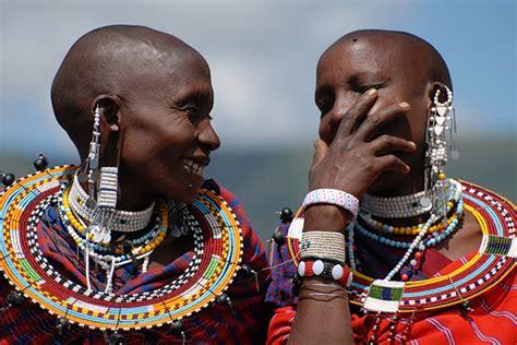 ear spacing amongst tribes