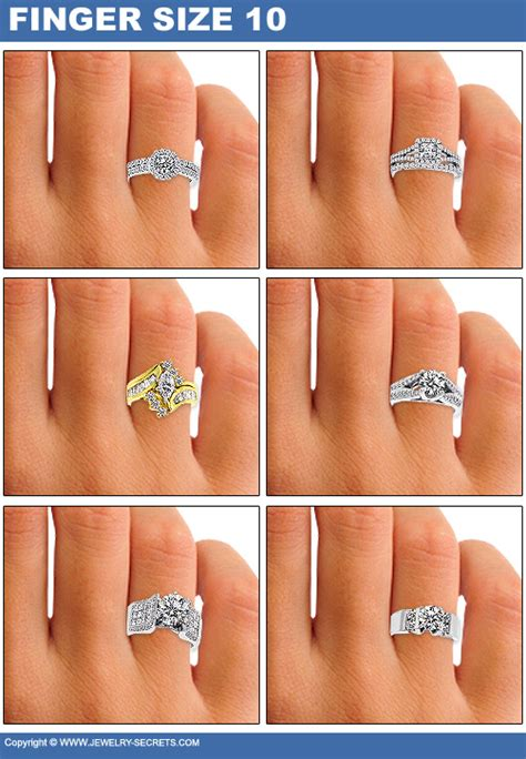 Size 7 10th Set Rempel how big will the look on finger jewelry secrets