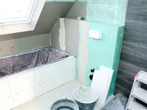 Badezimmer Decke Gipskartonplatten by Trockenbau Im Bad Badezimmer