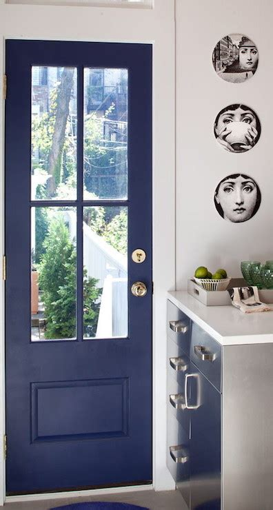 Blue Door Kitchen Blue Door Contemporary Kitchen Josephine Design