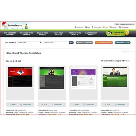 Free Sharepoint 2 0 Download Master Themes Sharepoint Web Template