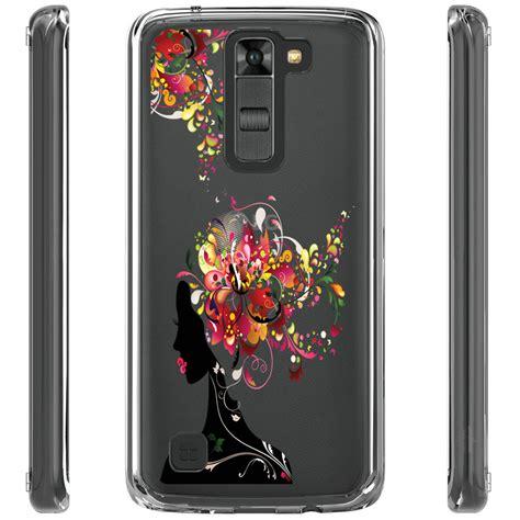 Lg K7 Clear for lg k7 tribute 5 ls675 m1 treasure l52vl design clear tpu soft phone ebay