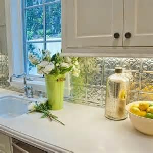 consider a tin backsplash for your kitchen kitchen