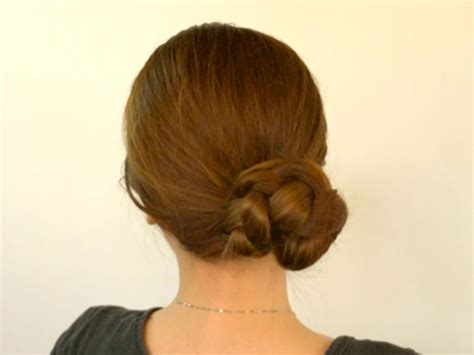 how make a braied bun how to make a braided bun 6 steps with pictures wikihow