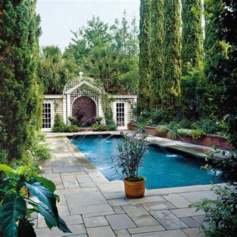 Backyard Pools Cypress Bored From Pool Side Look Give It A Ravishing New Touch