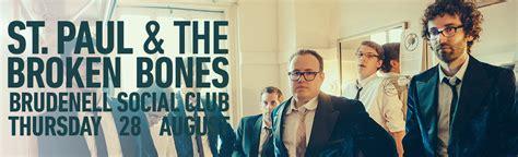 st paul and the broken bones uk st paul the broken bones gig at leeds brudenell social club