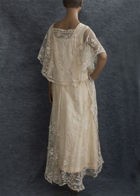 Vintage Wedding Dresses 1920 by Winter Vintage 1920 S Lace Wedding Dress