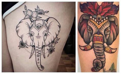 ideas de tatuajes de elefantes significados y dise 241 os