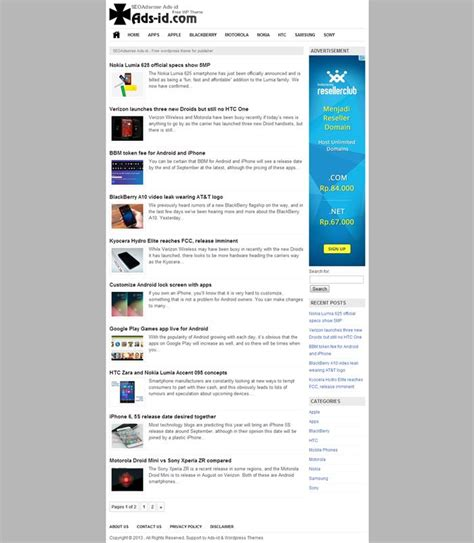 ind themes com download free themes for wordpress the best high ctr