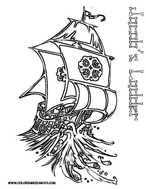 dessin bateau ulysse nos jeux de coloriage bateau pirate 224 imprimer gratuit