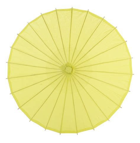 Paper Umbrella - 20 quot chartreuse paper parasol umbrellas on sale now