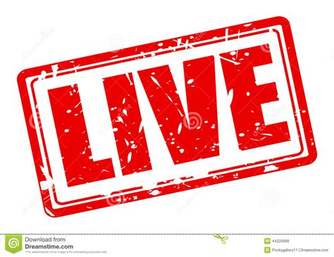 for live live st text stock vector image of musical