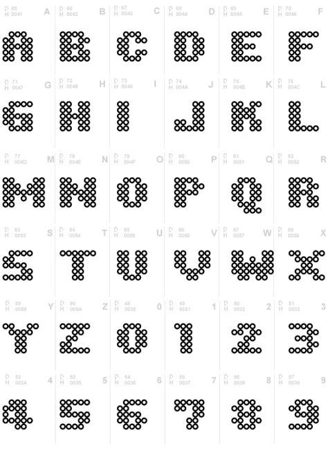 pony bead alphabet patterns iron font perler and pony iron