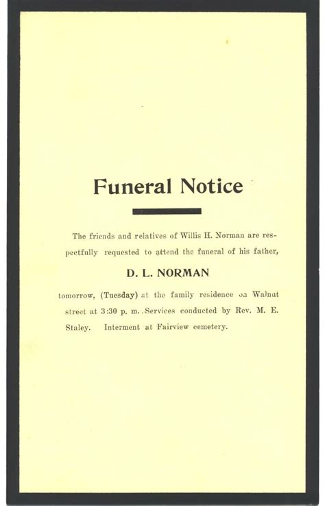 sle invitation letter memorial service images