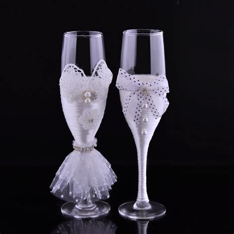 popular decorative chagne glasses buy cheap decorative