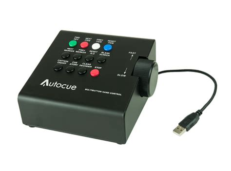 teleprompter controller usb multi button hand control