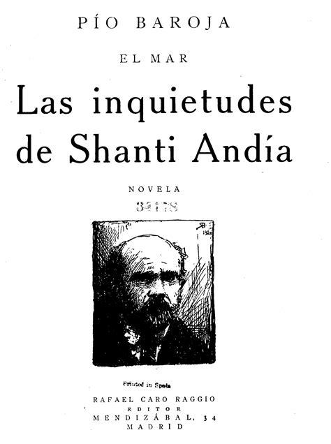 The Project Gutenberg eBook of Las Inquietudes De Shanti