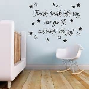 baby nursery art wall stickers quote sticker mirrorin notonthehighstreet