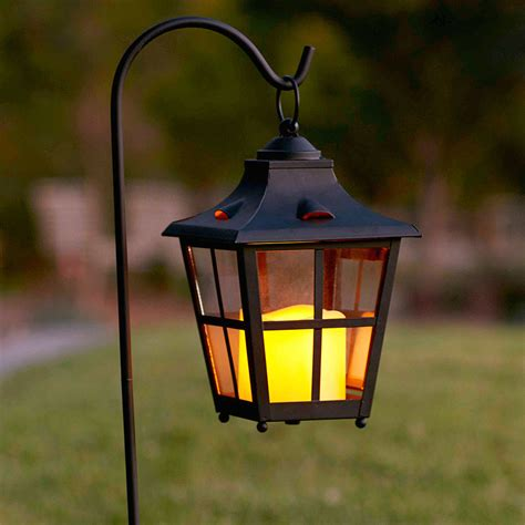 Lantern Patio Lights Garden Lantern Stakes Set Of Two By Nkuku Notonthehighstreetcom St Mawes Hurricane Garden