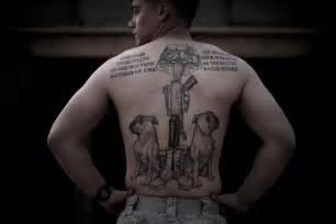 u s marine corp tattoos in afghanistan