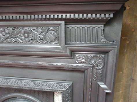 Arts And Crafts Fireplace Surround by Arts Crafts Cast Iron Surround 227cs 1606 Fireplaces