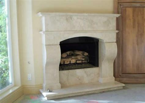 Travertine Tile Fireplace by Light Travertine Fireplace Millestone Marble Tile