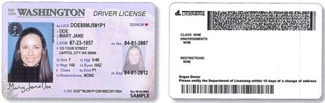 oregon id card template new license design recognition to play