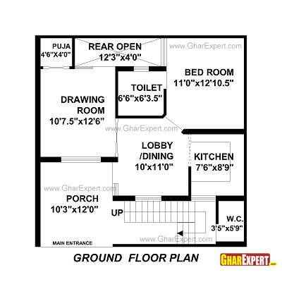 30 By 30 House Plans by House Plan For 30 By 30 Plot Plot Size 100
