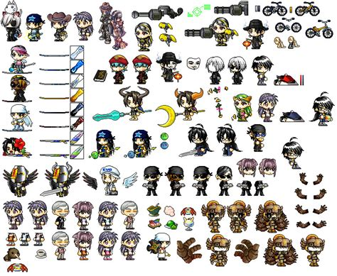 best hairsalon in maplestory first maple story sprite sheet by shadow443 on deviantart