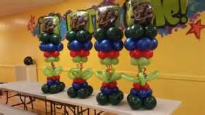 Balloon Table Centerpiece » Home Design 2017
