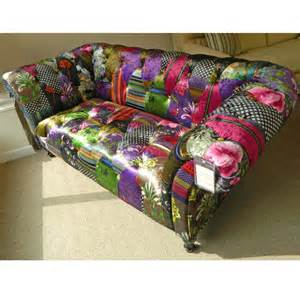 chesterfield sofa patchwork buy patchwork chesterfield sofa at bakers larners