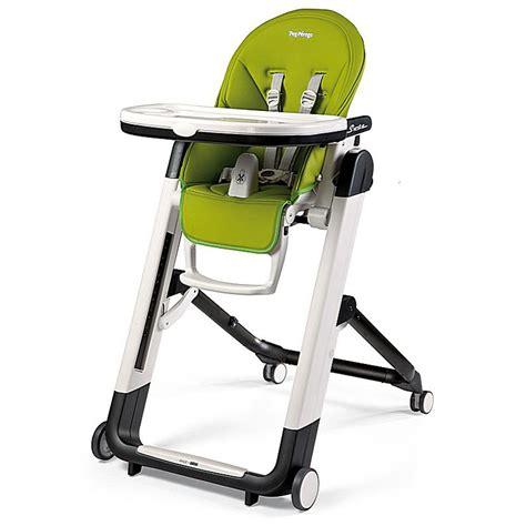 chaise siesta chaise haute b 233 b 233 siesta mela de peg perego sur allob 233 b 233