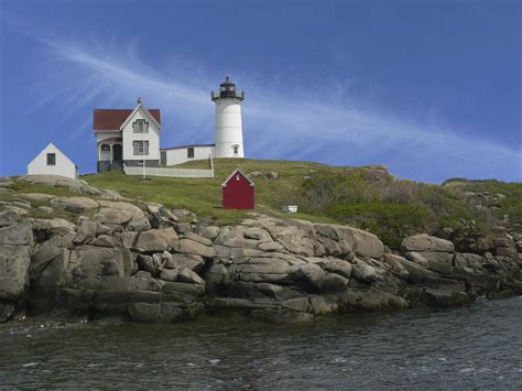 Nubble Light by File Nubble Lighthouse Jpg