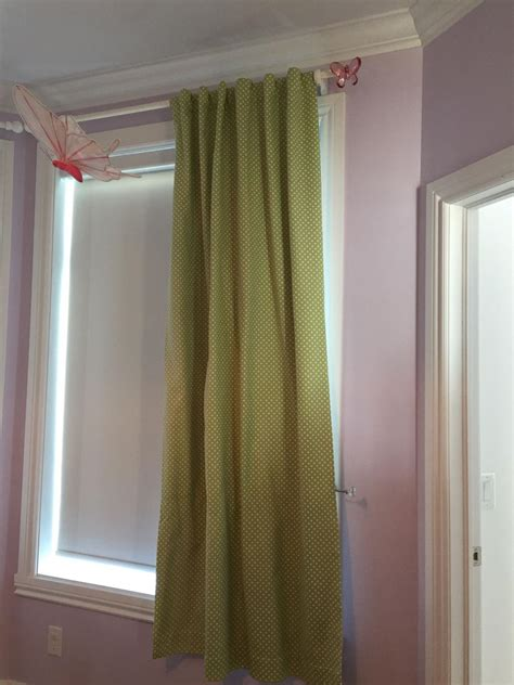 Best Green With White Polkadots Curtains Pottery Barn