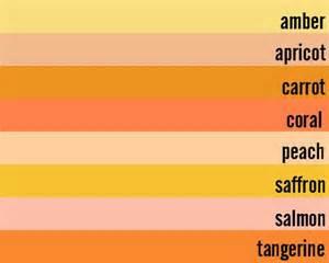 orange color shades orange the color orange pinterest