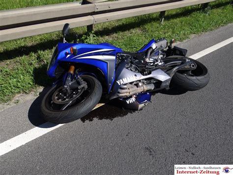 Motorrad Unfall Rauenberg by Motorradunfall Auf Der B3 Zwischen Nu 223 Loch Und Leimen
