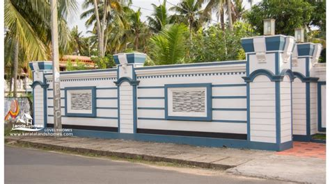 Wall Design 187 Kerala House Compound Wall Designs Photos Thousands Pictures Of Wall