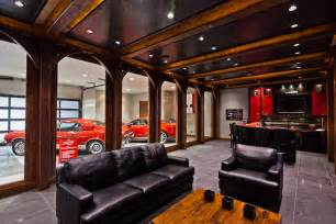 garage man cave designs create the beauty your house modern