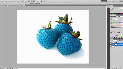 something that changes color photoshop how to change the colour of objects or