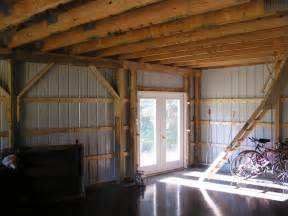 Pole Barn Homes Interior by Garage Additions Gerber Homes Remodeling Rochester Ny Area