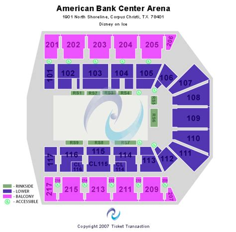 american bank center rodeo seating chart disney on 100 years of magic corpus christi tickets