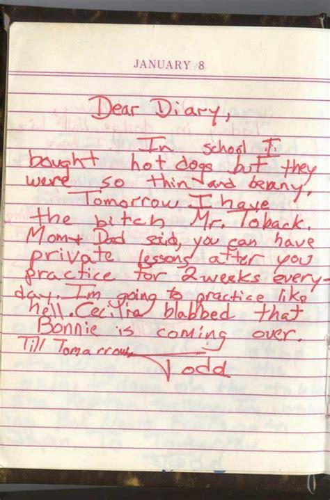 My Diary image gallery my diary