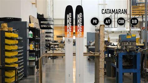 catamaran k2 k2 catamaran 120 freerideski 17 18 184cm kaufen im