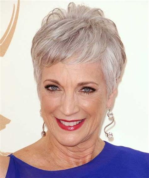 short haircuts for fine grey hair 15 short pixie hairstyles for older women short
