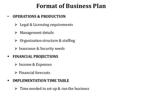 security business plan templates