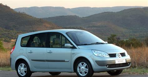 renault minivan renault grand scenic minivan mpv reviews technical data